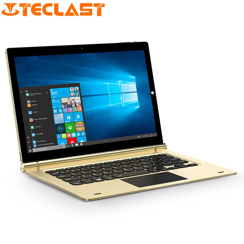Teclast TBook 10 S Intel Cherry Trail Z8300 Quad-Core 4 GB RAM 64 GB ROM 10.1 Inci 1920*1200 IPS Menang 10 + Android 5.1 WiFi Tablet PC