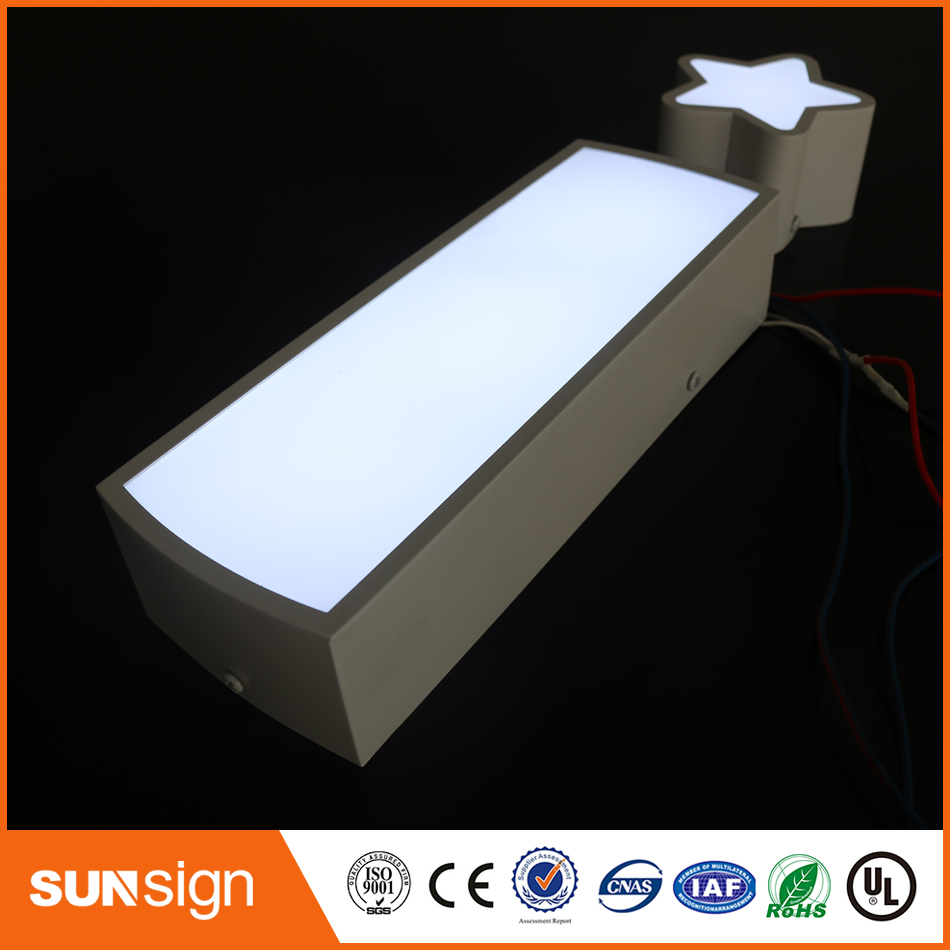 Factoy Outlet Super High Brightness Illuminated Acrylic LED Letters For Shop Sign
