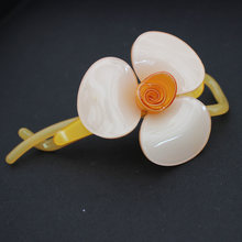 Flower Hair Pin - Acrylic Hair Accessory - Alexander - Hair Jewelry - Hair Ornament - Headwear for Women - Hair Comb - Tiara(China)