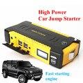 New Mulit-Function 16000mAh 12V Car Jump Starter 4USB Power Bank SOS Lights Mini Compass 600A Peak Car Battery Starter Free Ship
