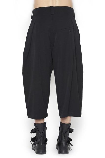 Lâche Gd Pantalon Culottes Nouveau Cheveux Styliste Taille Mode 44 Large Costumes Plus Vêtements Noir Jambe Chanteur Hommes De 27 Occasionnel Catwalk 2019 56PaqaYw