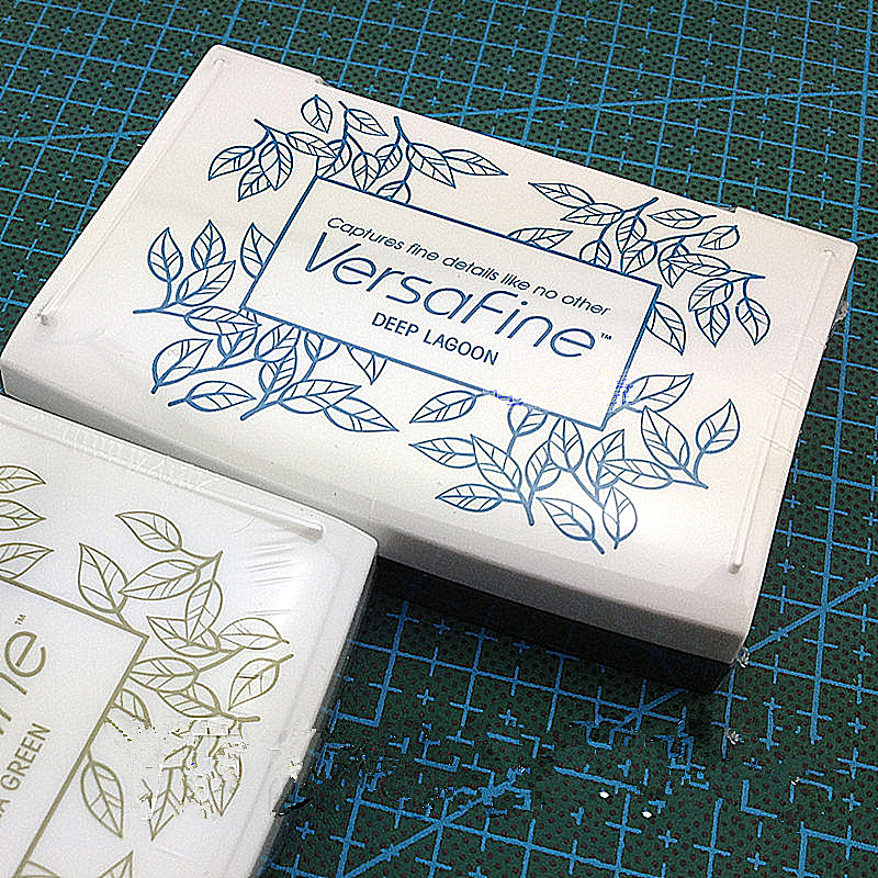 VersaFine High Detail Large Stamp Pad TSUKINEKO Stamp Pad Rubber Stamp With Ink Pad High Fine