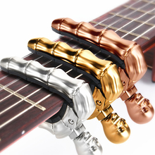 цена на new Acoustic Guitar Capo Quick Change Key Guitar Capo Tuner for Electric Guitar Parts Bass Ukulele Chromatic Rock character