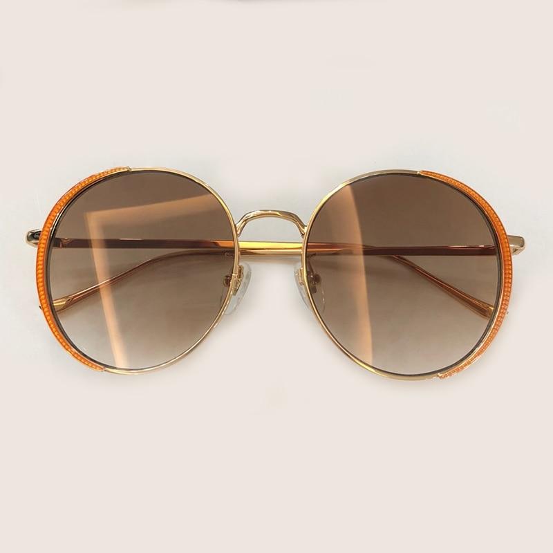 2019 Designer Retro No1 Gläser Qualität no4 no6 Sunglasses Mode Frauen no3 Metall Sunglasses Uv400 Sunglasses Runde Vintage Hohe Sonnenbrille no5 Sunglasses no2 Sunglasses Marke Rahmen Sunglasses wfW68xFA0