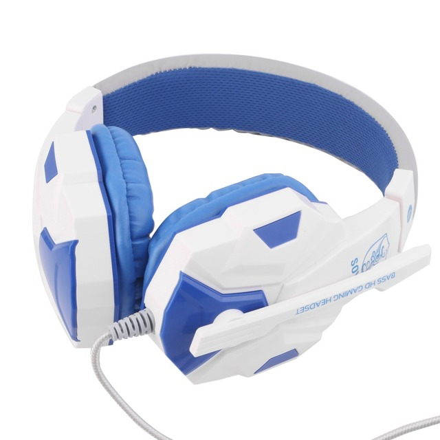 3.5mm Surround Stereo Gaming Headset Headband Headphone with Mic for PC 6