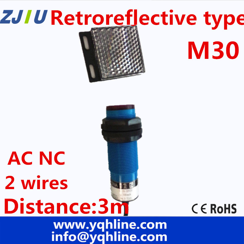 M30 Retroreflctive type AC90 250v NC 2 font b Wires b font font b Photoelectric b?resize\=665%2C665\&ssl\=1 tork photocell 2001 wiring diagram 2wire photocell wiring  at eliteediting.co