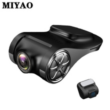 купить Car DVR Night Vision Dash Camera Video Recorder Camera Full HD 1080P G-Sensor Car Camera Dual Lens DVRs USB Dash Cam for Android дешево