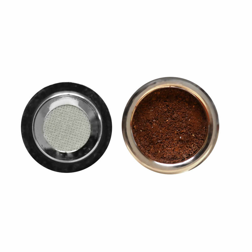 2pcs Coffee Filters For Caffitaly Minipresso CA Tchibo ALDI Refillable Reusable Stainless Steel Coffee Capsule Pods @12