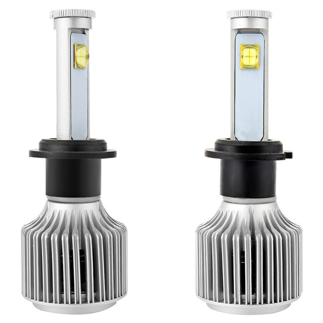Auto Head Lamp Bright Cold White Headlight Bulbs All-in-one Conversion Kit H3 6000K X7 LED Car Headlight Vehicle Front Fog Light