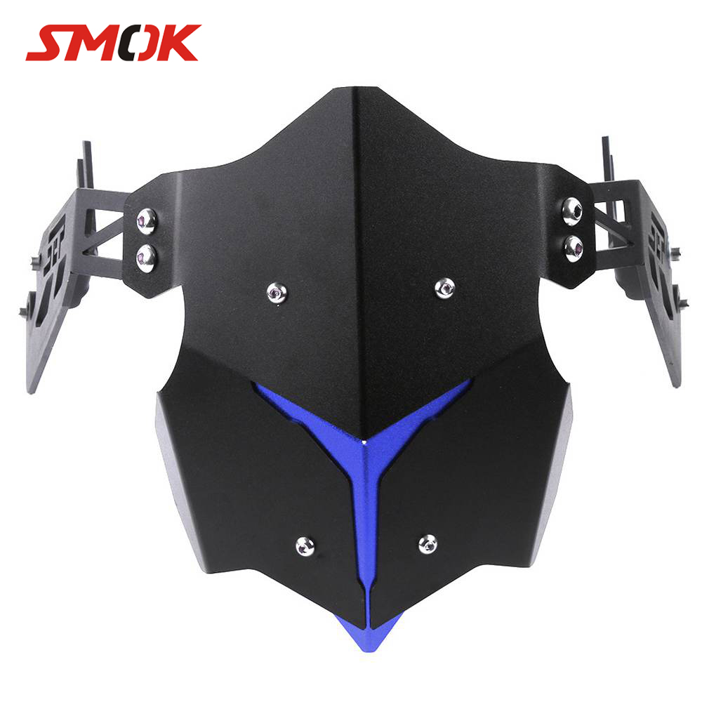 SMOK Motorcycle CNC Rear Fender Bracket Motorbike Mudguards For Yamaha MT-09 MT 09 MT09 MT-07 MT 07 MT07 MT-03 MT 03 R3 2017 gas fuel tank cap cover motorcycle for yamaha mt mt 01 mt 25 mt 03 mt 07 mt 09 mt 10 2005 2017 2016 2015 2014 2013 2012 cnc
