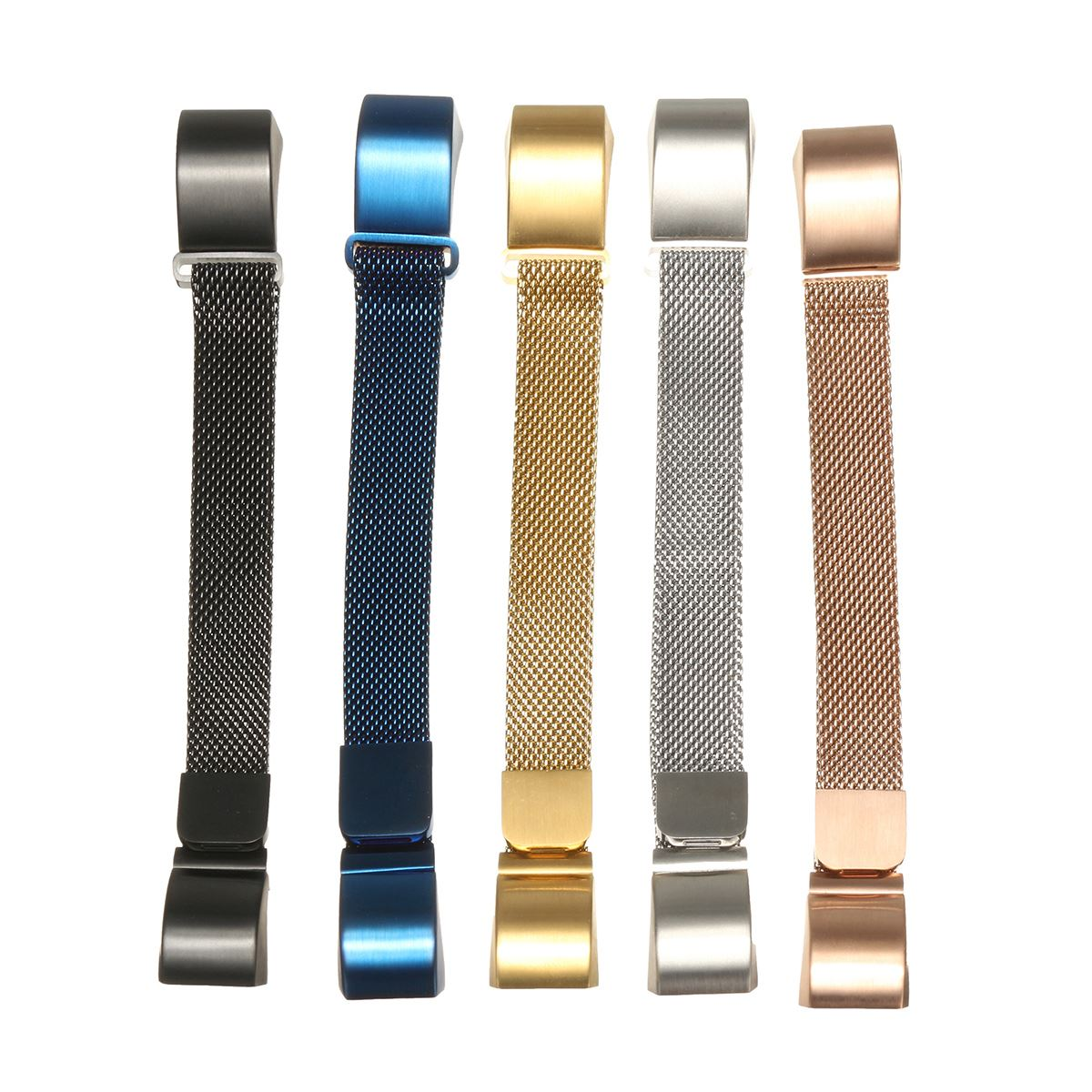 Luxury Milanese Loop Magnetic Stailess Steel Wrist WatchBand Strap + Frame Casual Watch Colorful Man/Woman Watchband crested luxury magnetic milanese loop wrist strap