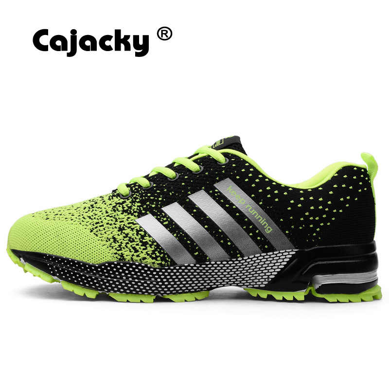 db34a5ff2268 Cajacky Running Shoes Men Plus Size 48 47 Summer Autumn Men Sport Shoes  Outdoor Unisex Athletic Trainers Lightweight Sneakers
