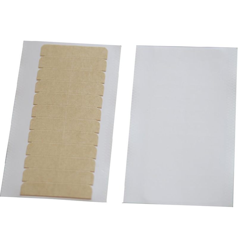 Ruda pakuotė - aukštos kokybės stipri dviguba juosta, skirta odos plaukams ataudui / puodui plaukti + nemokamas pristatymas per CPAM