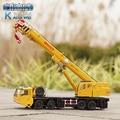 KaiDiWei Heavy cranes 1:55 alloy origin truck model lifting cranes  kids toy Christmas gift free shipping boy