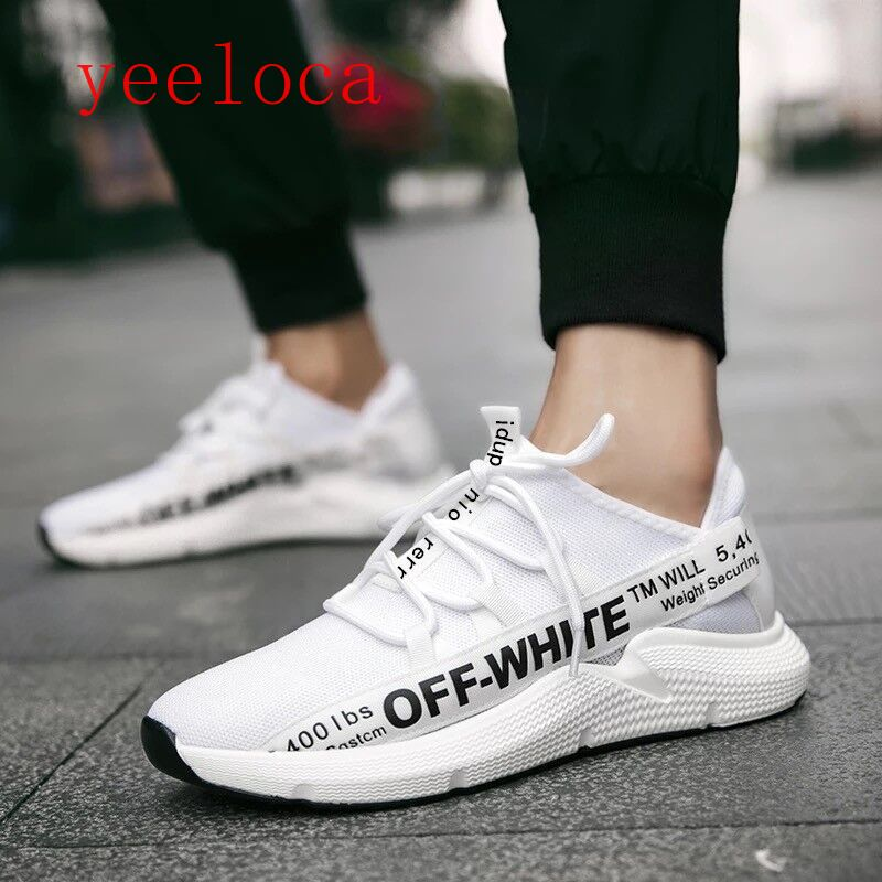 Yeeloca 2018 Autumn Mens Shoes Sports Leisure Shoes Network Fitness Shoes Excellent In Cushion Effect Men's Shoes