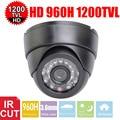 Vanxse cctv 1/3 sony 1200tvl hd cmos 960 h 24 pcs ir leds ir-cut 3.6mm dome indoor câmera de segurança de vigilância