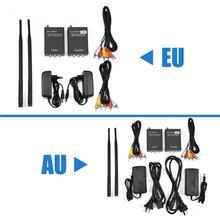 2.4 GHz Kablosuz Ses Video AV Verici Gönderen ve Alıcı Adaptörü için ev sinema sistemi video verici alıcıları