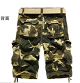 2014 summer Men's cotton cargo pants fashion loose casual Camouflage army pants men overalls, size 29~38, Drop Shipping