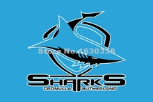 Cronulla Sharks Flag Huge Sky NRL 3ft X 5ft National Rugby League NRL Banner Size 4 144* 96cm Flag
