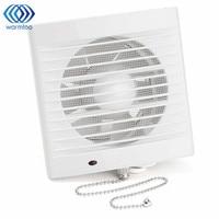 220 V 16 W 5 Pulgadas Ventana Hogar de tipo Silencioso Extractor de Ventanas De Vidrio de Pared Baño Cocina del Hotel Ventilador de ventilación