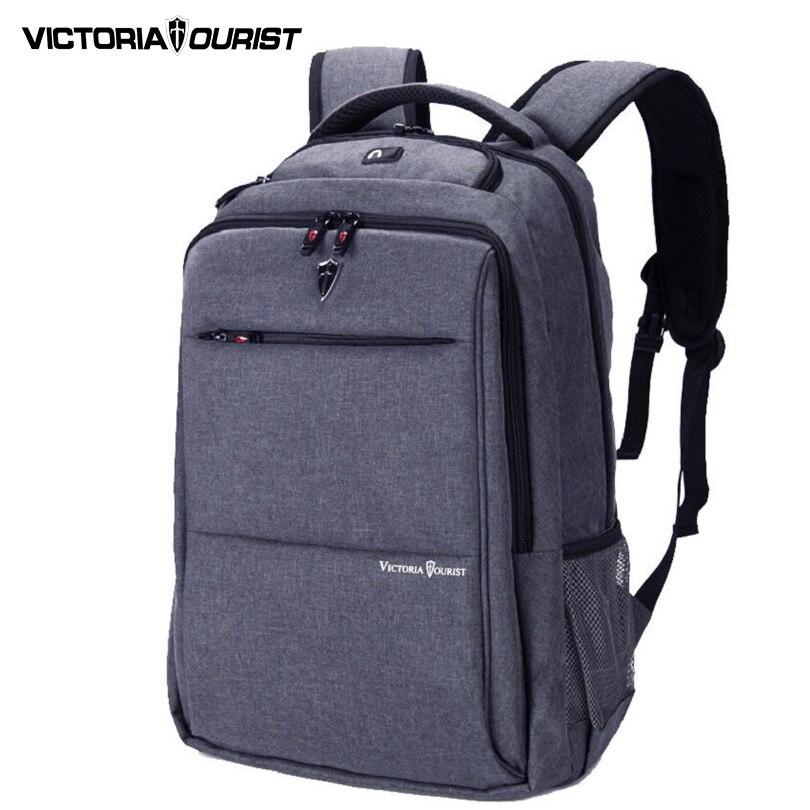 VICTORIATOURIST 15.6 inch laptop backpack nylon bag pack for men vintage business/travel waterproof backpack /V9006 lowepro protactic 450 aw backpack rain professional slr for two cameras bag shoulder camera bag dslr 15 inch laptop