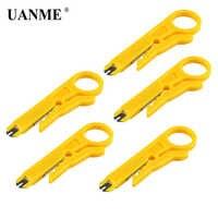 UANME 5 teile/lose Neue Cutter Kabel Elektriker Werkzeuge Einfache Mini Zange Praktische Anlege Netzwerk UTP Kabel Cutter Hand Werkzeuge