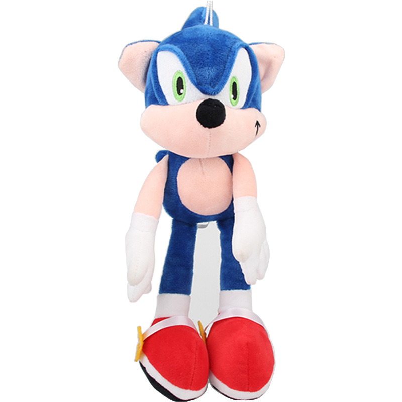 1pcs 30cm Sonic Plush Toys Doll Blue Sonic The Hedgehog Plush Soft Stuffed Toys For Kids Children Christmas Gifts