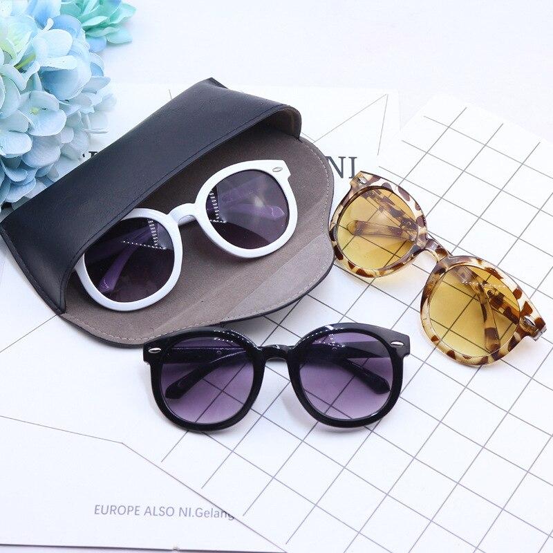 Hart Arbeitend 2019 Mode Marke Kinder Sonnenbrille Kind Schwarz Reis Nagel Sonnenbrille Anti-uv Baby Sonnenschutz Brillen Mädchen Junge Sonnenbrille Profitieren Sie Klein