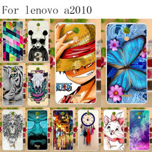 Anunob Soft TPU Phone Case For Lenovo A2010 Case Cover Silicon Phone Back Cover For Fundas Lenovo A2010 A2580 A2860 a 2010 4.5