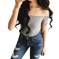 Womens-Short-Sleeve-Off-Shoulder-Knitted-Top-1