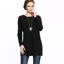 5XL 6XL 4XL Plus Large Size Cashmere Wool Sweater Women Pullover Ladies Autumn Winter Warm O Neck Kitted Sweaters Jumper Female