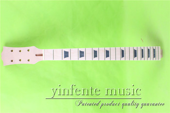 """L -00142 #  unfinished   24.75"""" Electric guitar neck fine quality  maple   fingerboard"""