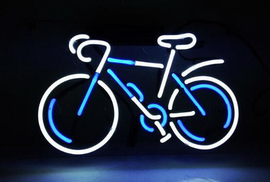 BICYCLE Glass Neon Light Sign