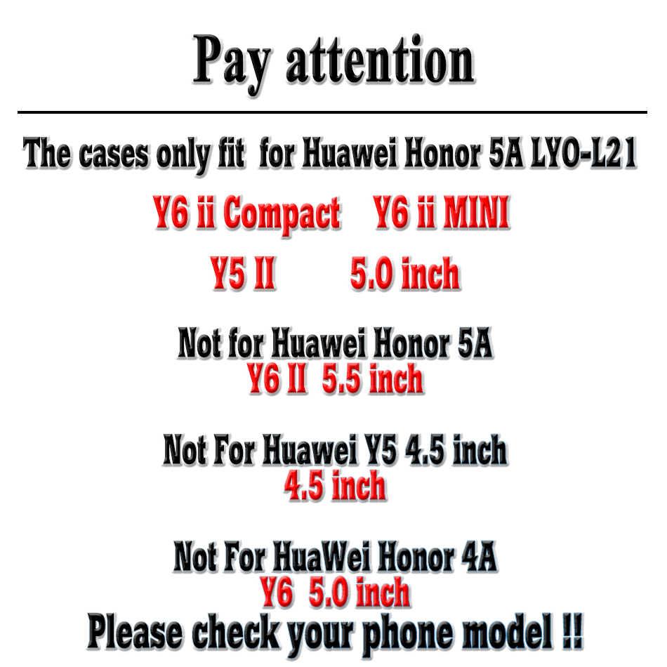 AKABEILA Điện Thoại Trường Hợp Đối Với Huawei Y5 II Bìa Y5II Y6 Ii Nhỏ Gọn CUN-U29 Honor 5A LYO-L21 Y5 2 Y5 2nd matte Túi Nhựa Trường Hợp Bìa