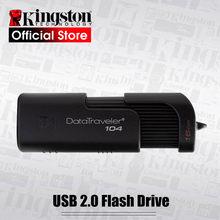Kingston nouveau Flash USB 16GB 32GB 64GB noir DT104 flash bellek voiture Portable clé USB stylo disque clé DT100G3 USB3.0 clé USB