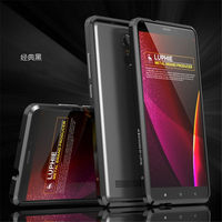For Xiaomi Redmi Note 3 Case Luphie Ultrathin Aircraft Aluminum Bumper Metal Frame Cases Cover Phone