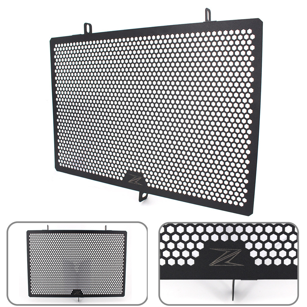 New Style Motorcycle Radiator Guard Protector Grille Grill Cover For KAWASAKI Z750 Z800 Z1000 Z1000SX NINJA 1000 motorcycle parts radiator grille protective cover grill guard protector for 2007 2008 2009 2010 2011 2012 kawasaki z750