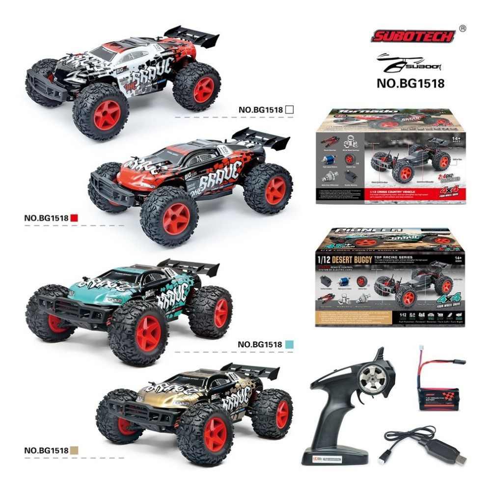 2018 Baru Arrial RC Mobil Asli Suboptik BG1518 1:12 2.4G 4WD 45Km/Jam Kecepatan Tinggi Gurun Buggy RC Drift mobil Crawer Model Mainan Hobi