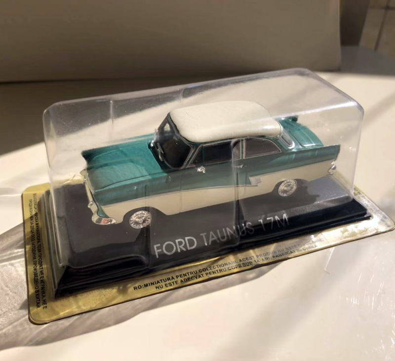 IXO 1/43 Scale USA <font><b>Ford</b></font> Taunus 17M Vintage Diecast Metal Car <font><b>Model</b></font> Toy For Collection/Gift/Decoration image
