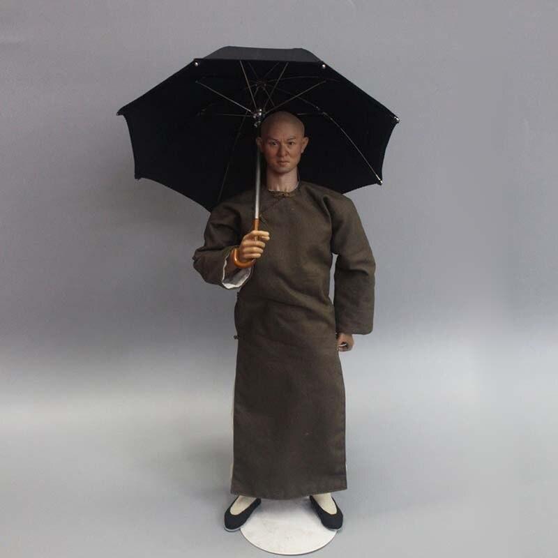 """1//6 Umbrella Model Black ZY3003 For 12/"""" Action Figure Props scene Accessory"""