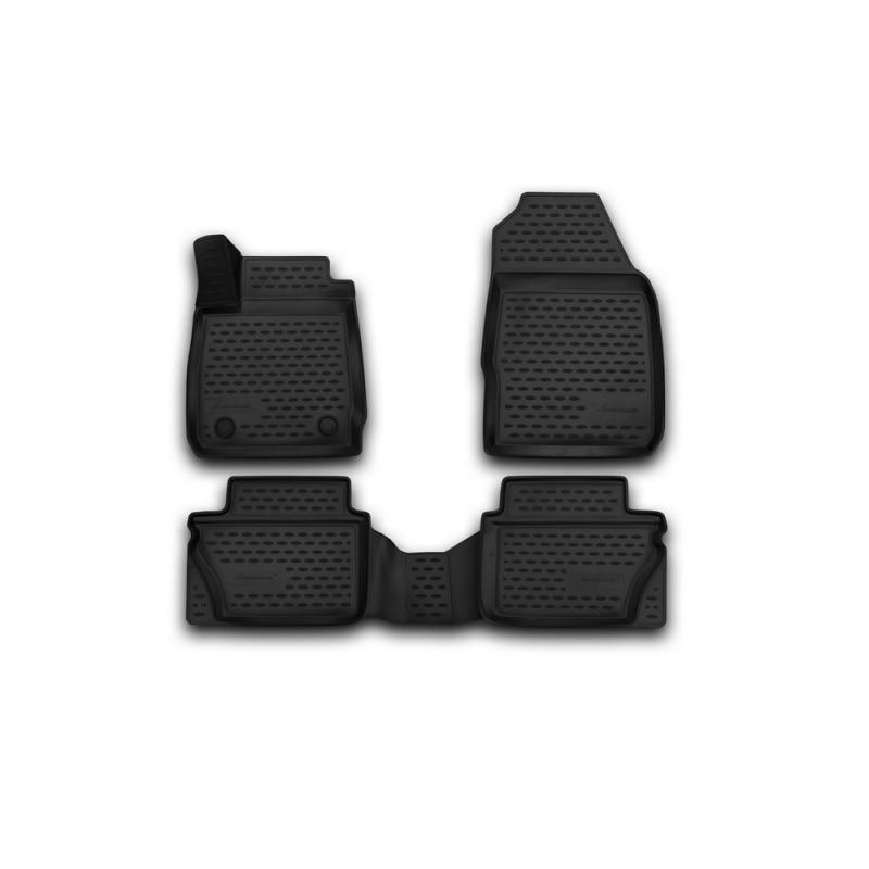 Car Mats 3D salon For FORD Fiesta, 2011-2015, 2015-> сед... хб... 4 PCs (polyurethane) tcrt5000 reflective infrared sensor photoelectric switches 10 pcs