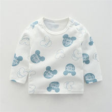 Kids T shirt Boys Girls Cotton Clothes Animals Baby Tees Tops Animals T shirts Kids Boys New Design Children Girl Top(China)