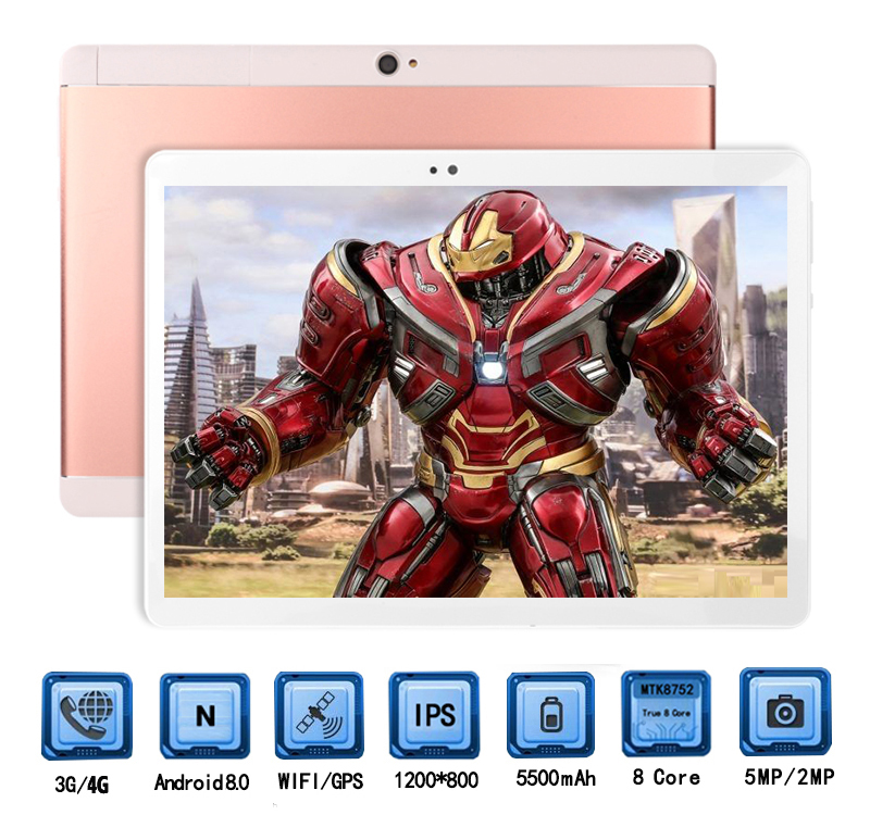 2019 lastest Fast For Games 10 inch Android 8 0 MT8752 Octa Core Tablet PC 4GB