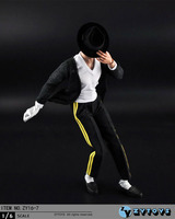 1 6 Scale Male Figure Accessory Clothes Michael Jackson Billie Jean Suit For 12 Action Figure