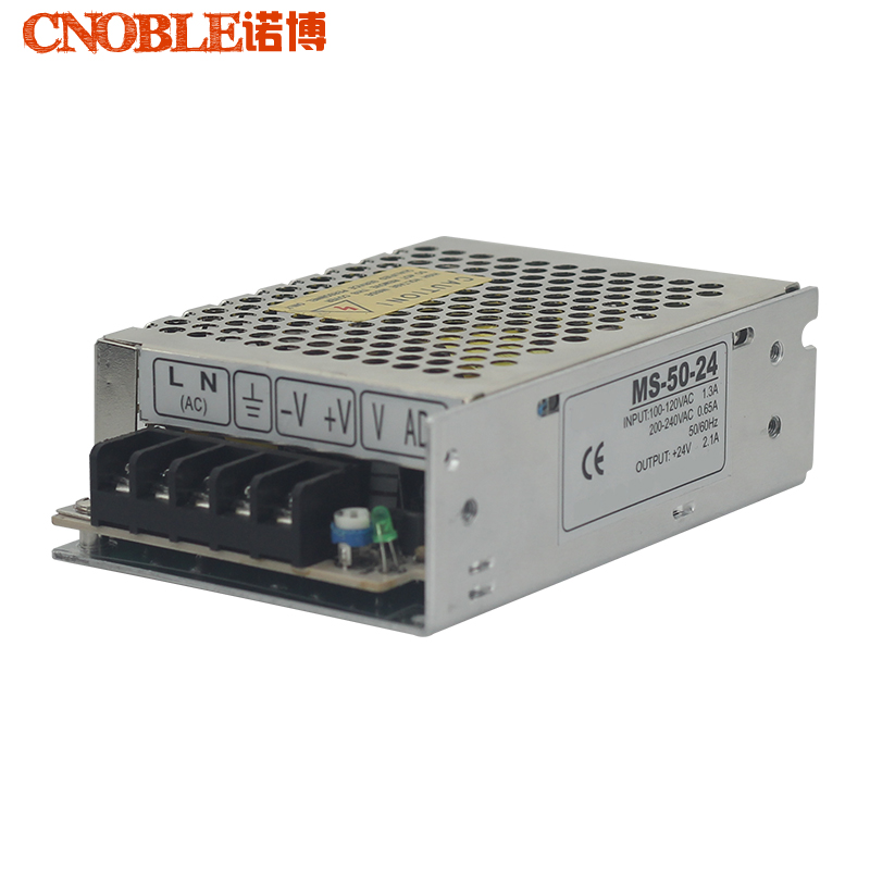 MS-50-24 50W Small Volume Single Output Switching Power Supply for LED Strip light ms 50 24 50w small volume single output switching power supply for led strip light