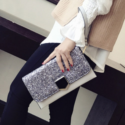 New Arrival Luxury Party Clutch Evening Bags Handbags Women Bags Designer Bling Korean Style High Quality Ladies Shoulder Bag