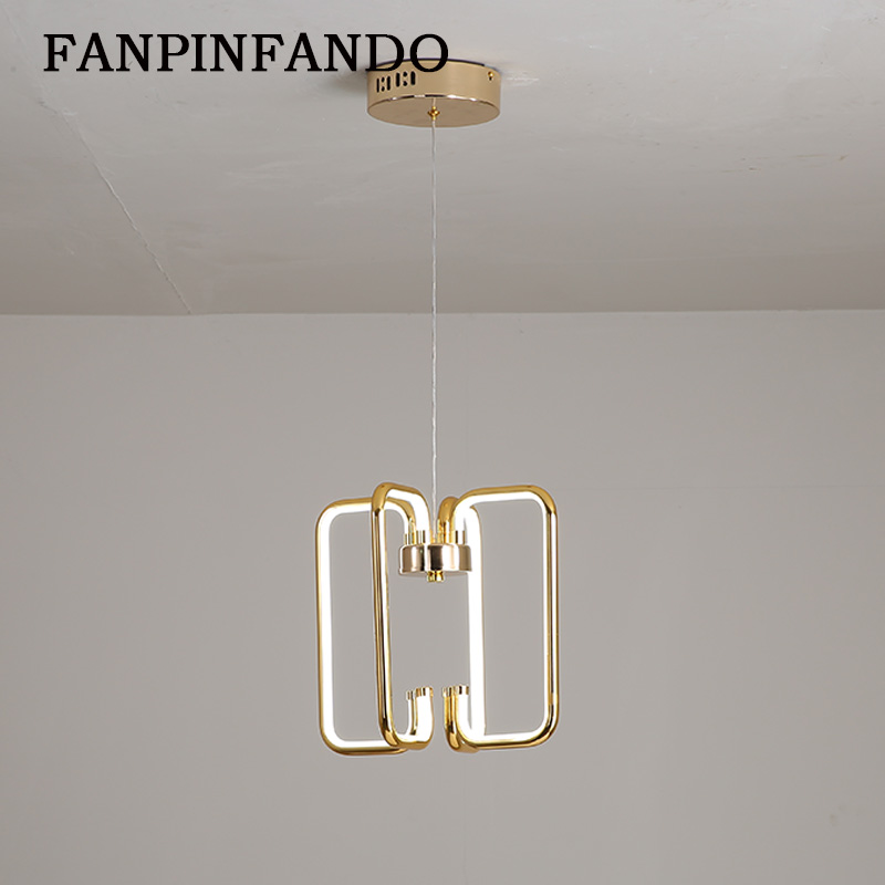 Modern LED plating Pendant Light For Living room Bedroom Dining room Hanging Lamp LED Pendant Lamp Home Lighting Led Lustre white black modern led pendant light for living room bedroom dining room hanging lamp led pendant lamp home lighting led lustre