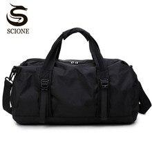 Scione, спортивная сумка для путешествий, многофункциональные дорожные сумки для мужчин и женщин, складная сумка, Большая вместительная спортивная сумка, складные сумки