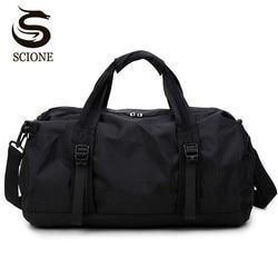 Scione, спортивная сумка для путешествий, многофункциональные дорожные сумки для мужчин и женщин, складная сумка, Большая вместительная спорт...