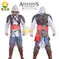Assassins Creed 4: Black Flag Косплей Эдвард Джеймс Kenway Костюмы Для Взрослых Игры Cos Одежда эцио Костюм На Заказ